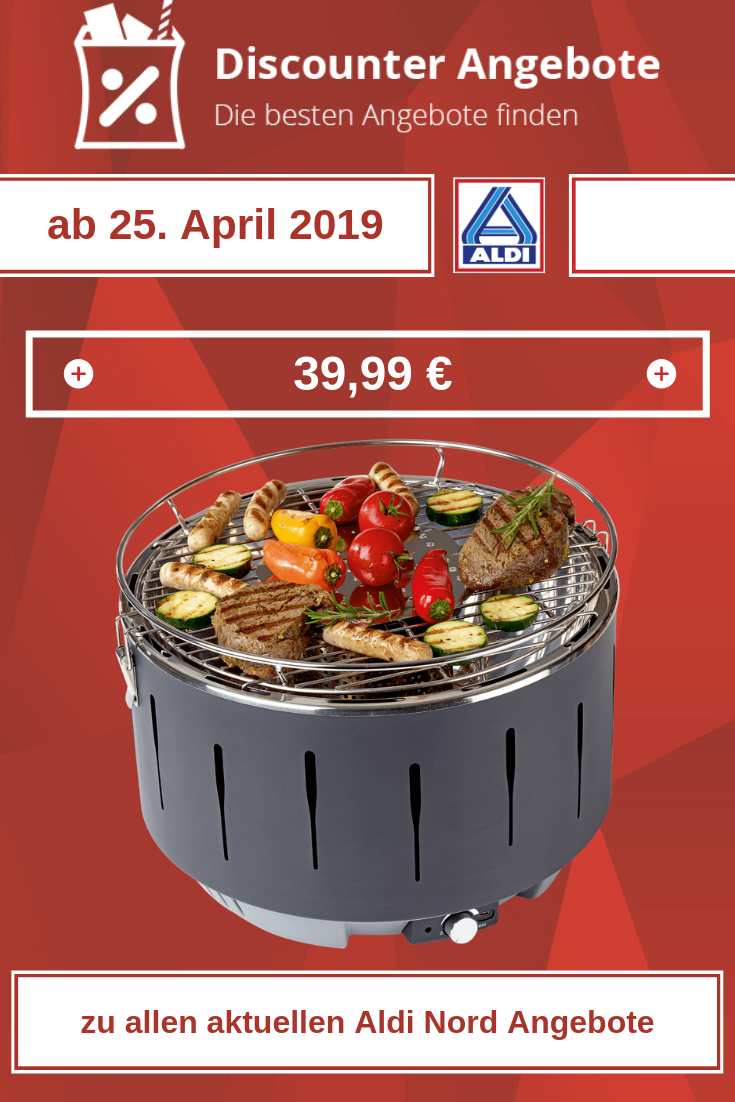 Fast'n Easy Grill von Aldi ab 25. April 2019
