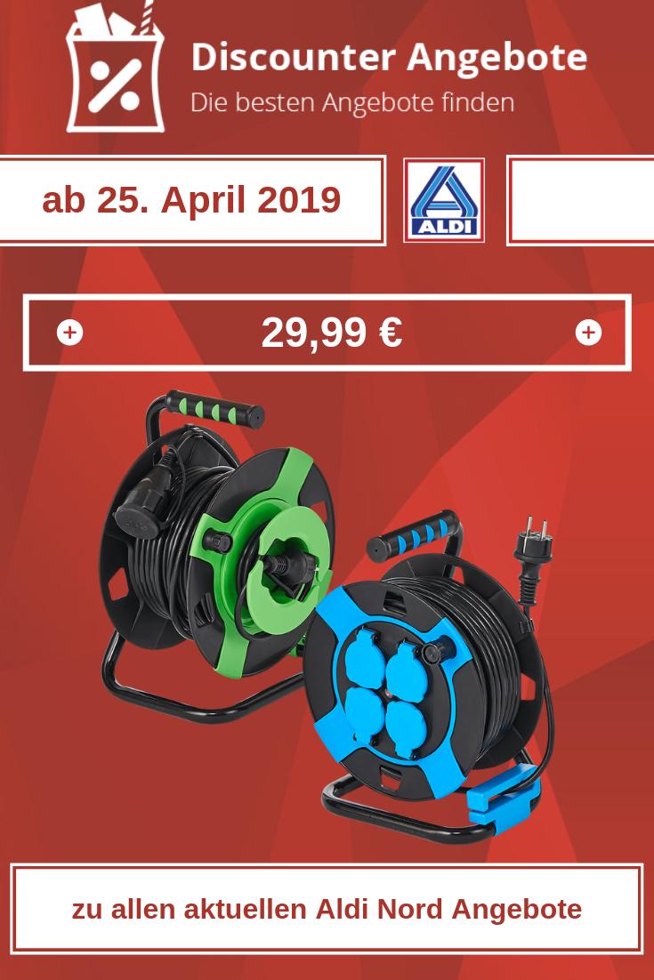 Gartenkabeltrommel / Kabeltrommel von Aldi ab 25. April 2019