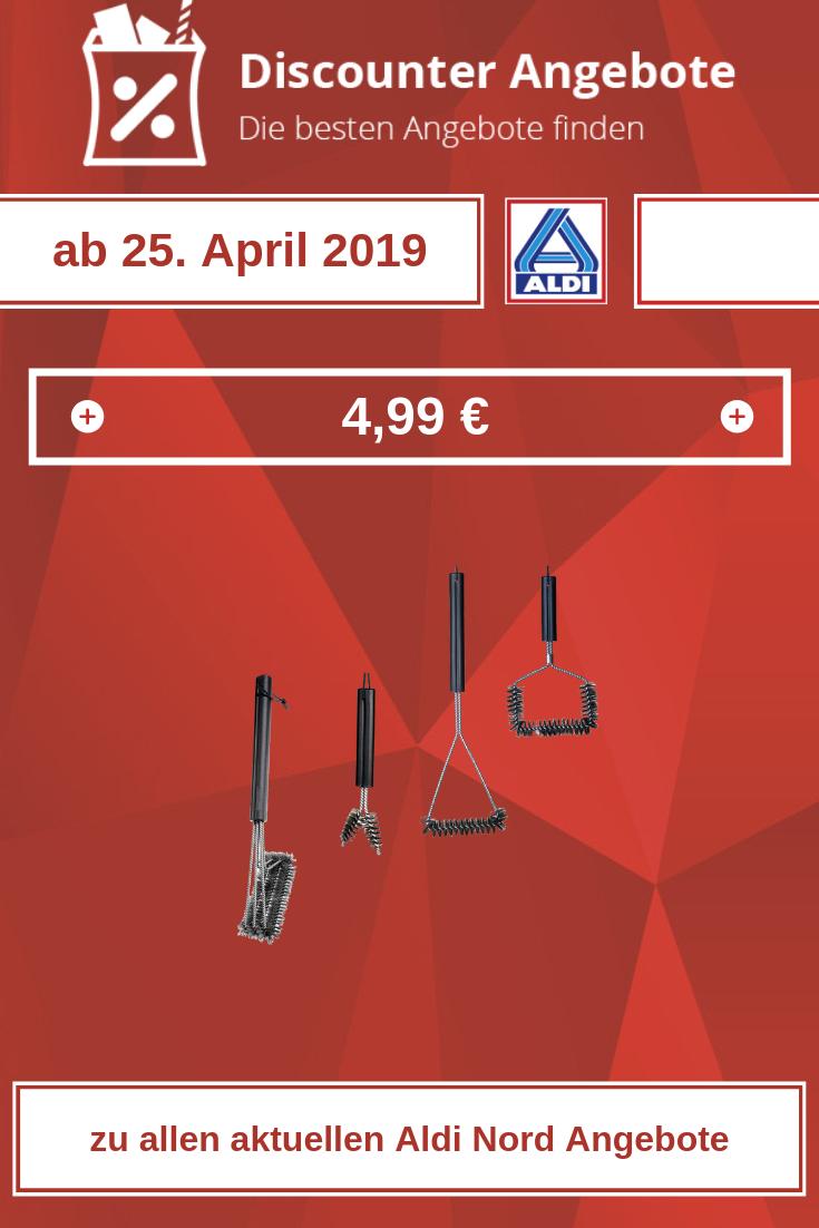 Grillbürsten von Aldi ab 25. April 2019