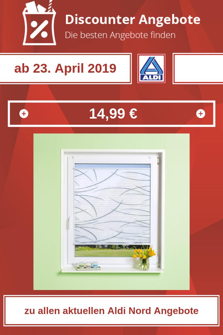 Plissee für Fenster  ab 23. April 2019