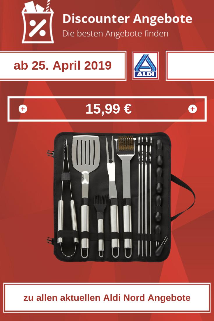 Grillbesteck von Aldi ab 25. April 2019