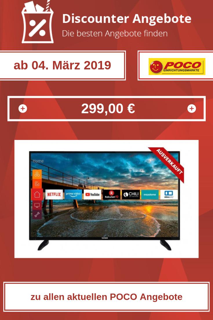 LED-Fernseher 49 Zoll D49U472X4CWH von POCO