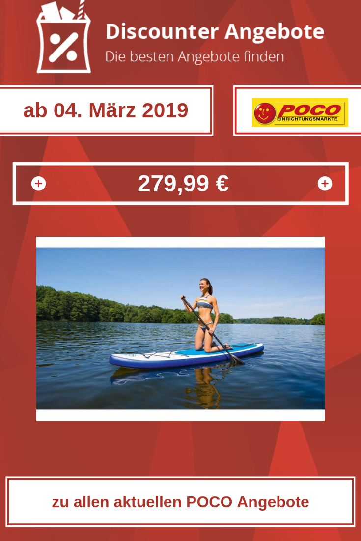EASYmaxx Stand-Up Paddle-Board von POCO
